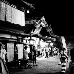 昭和のような町並みの異世界