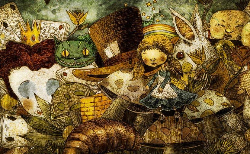 1183x675_9338_Alice_in_wonderland_2d_fan_art_alice_in_wonderland_fantasy_watercolor_picture_image_digital_art-1