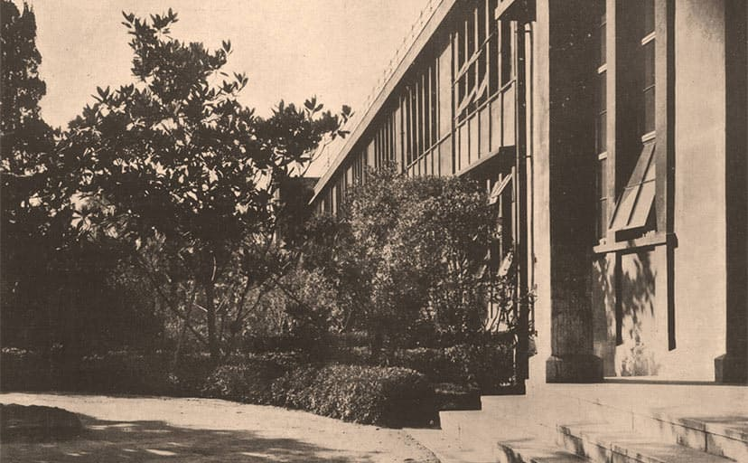 戦時中の校舎