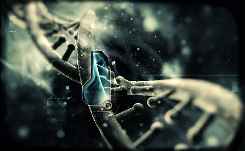 Art-Nano-Tech-Helix-Dna-The-Chain