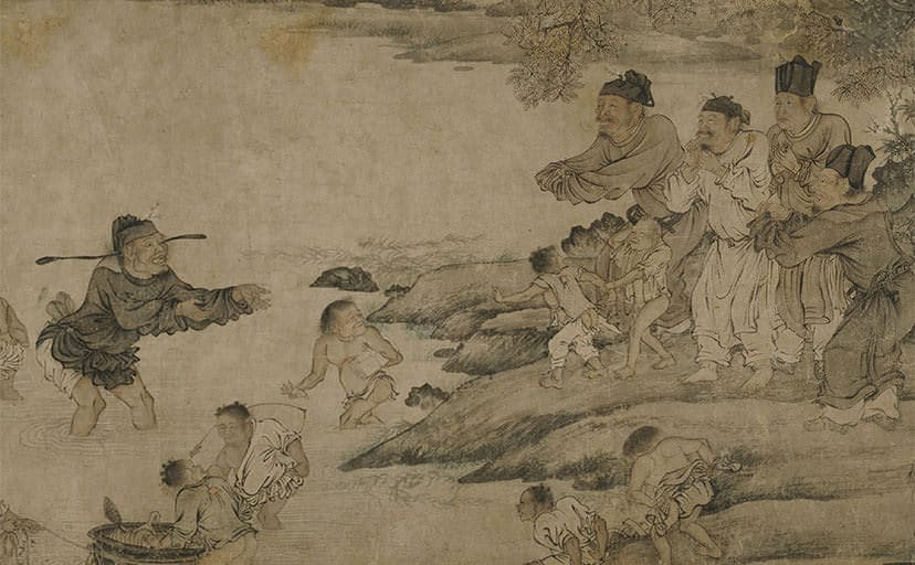 Chinese_-_Yang_Pu_Moving_His_Family_-_Google_Art_Project
