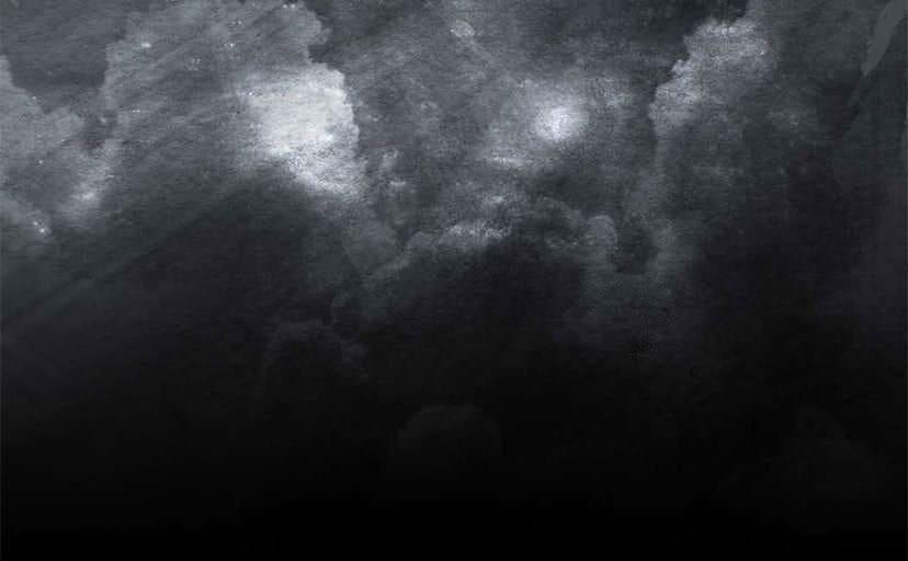 暗い夜空(フリー写真)