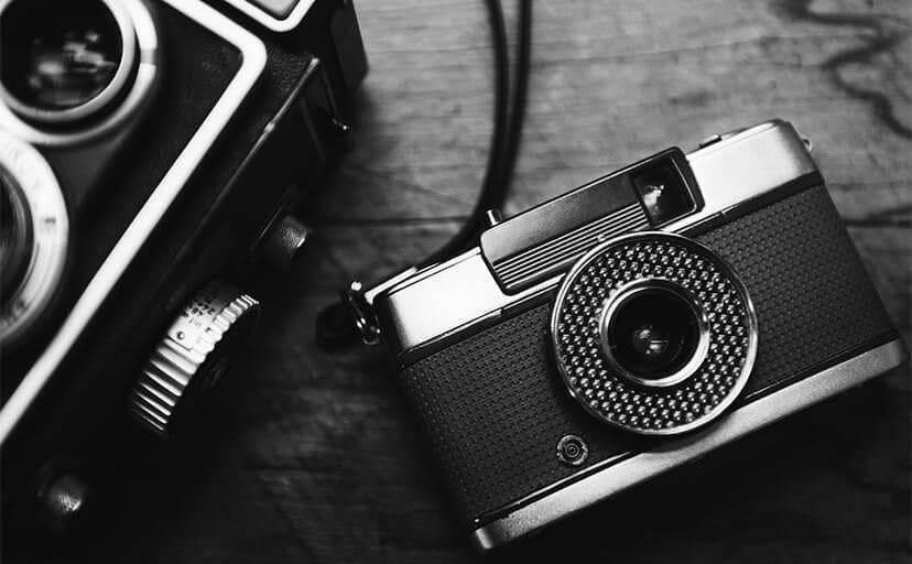 アナログカメラ(フリー素材)