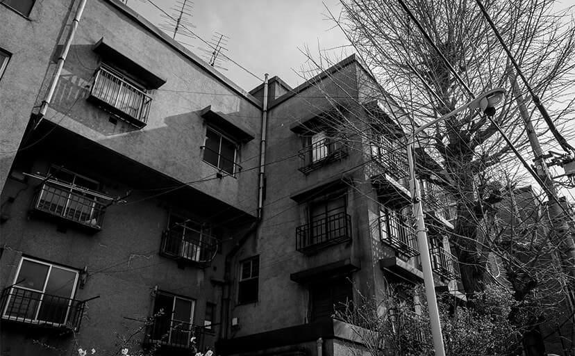 アパート(フリー写真)