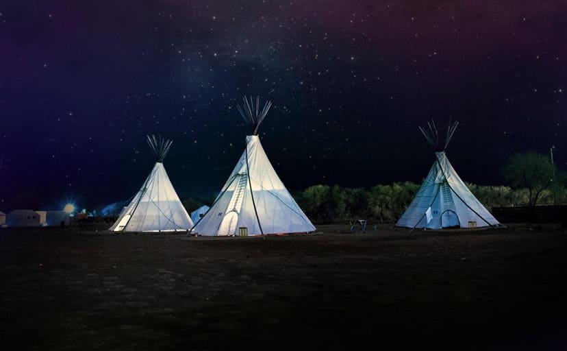 キャンプ(フリー写真)