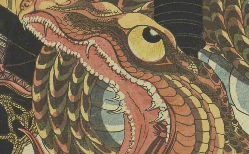 大蛇(浮世絵)