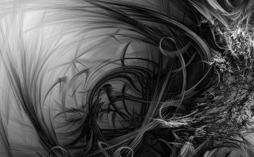 抽象模様(フリー画像)