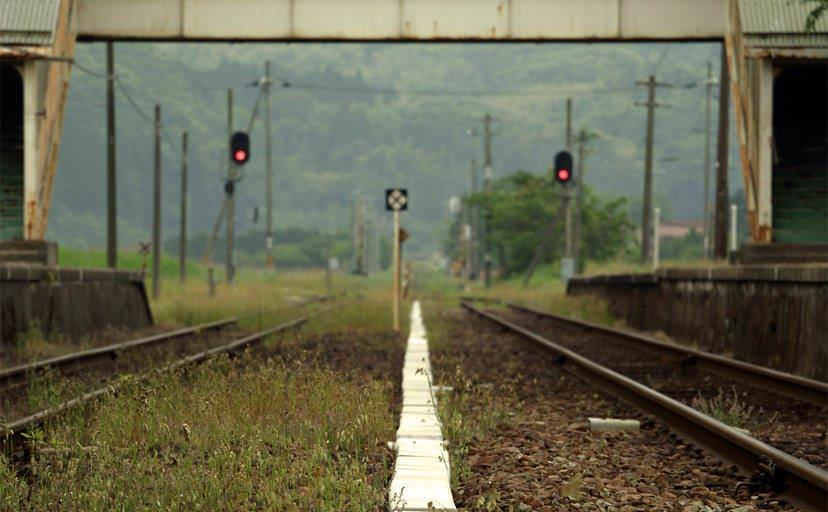 ローカル駅(フリー写真)
