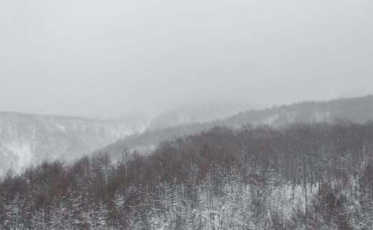 吹雪(フリー写真)