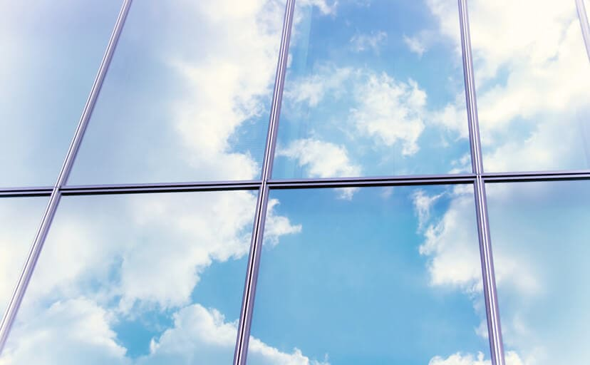 ガラス窓(フリー写真)