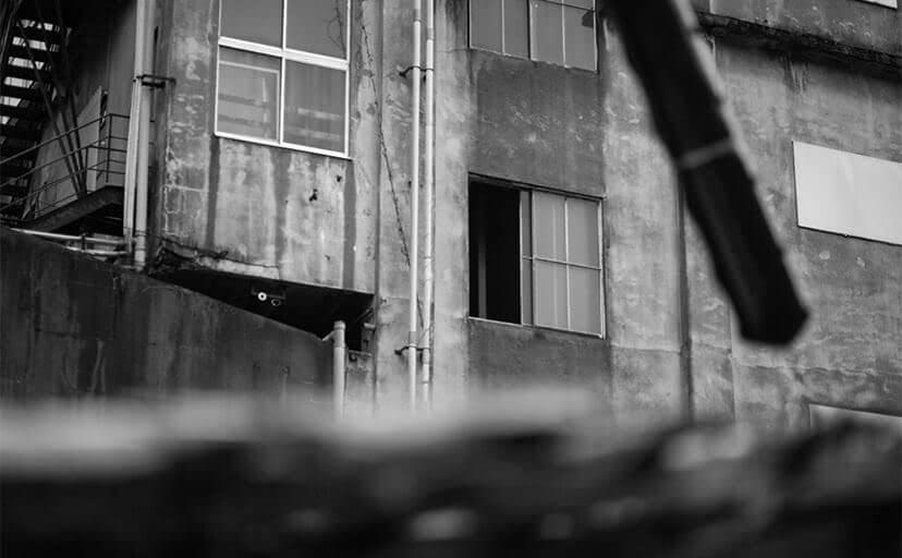 廃墟(フリー写真)