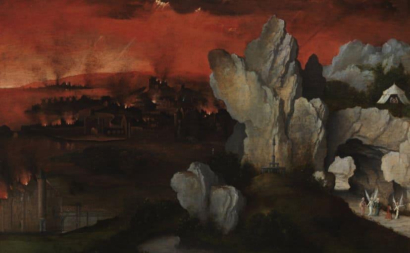 天国と地獄(フリー写真)