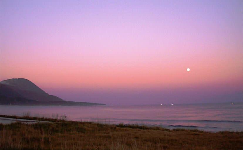 北海道の海(フリー素材)