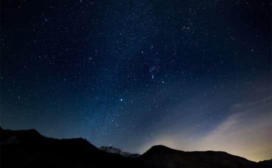 星空(フリー写真)