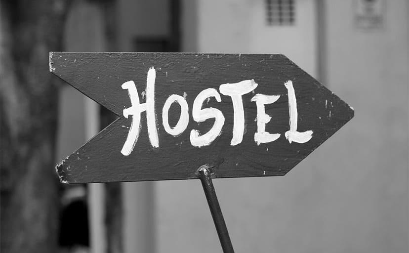 ホテルの看板(フリー素材)