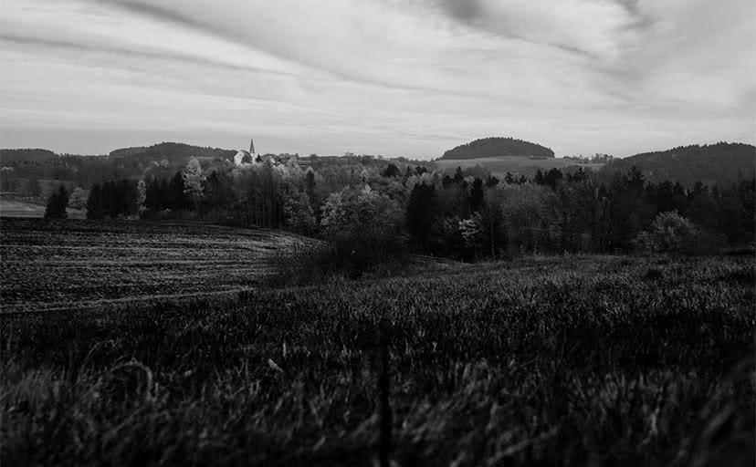田舎(フリー写真)