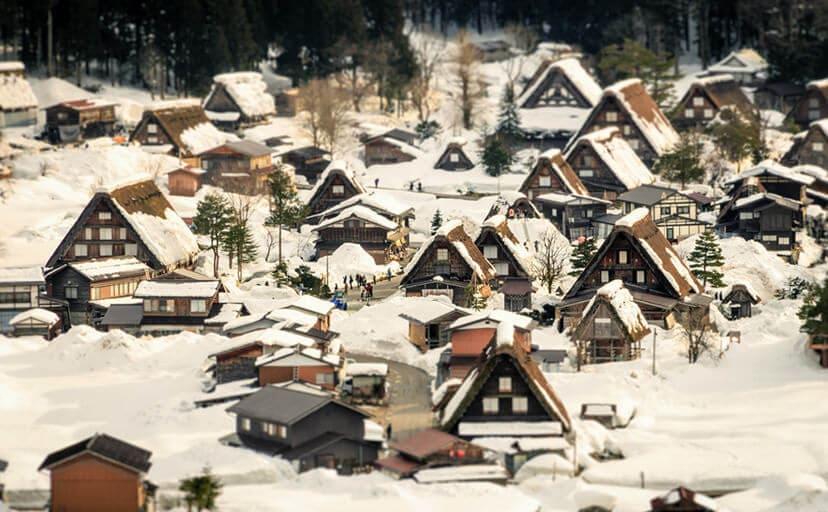冬景色(フリー写真)