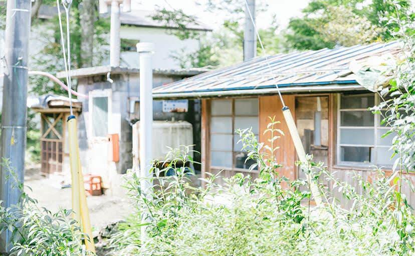 田舎の家(フリー写真)