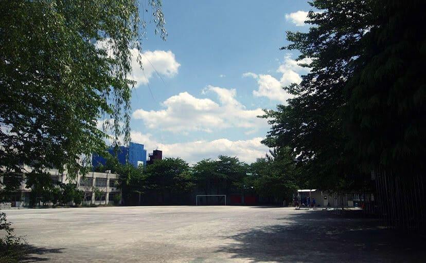 校庭(フリー写真)