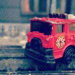おもちゃの消防車