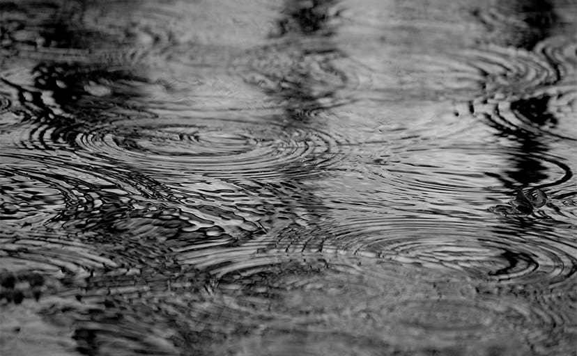 雨(フリー素材)