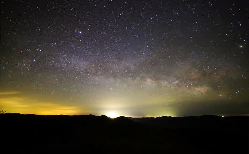 四国の夜空