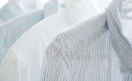 白いシャツ(フリー写真)