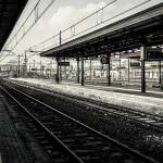 不思議な老人と駅