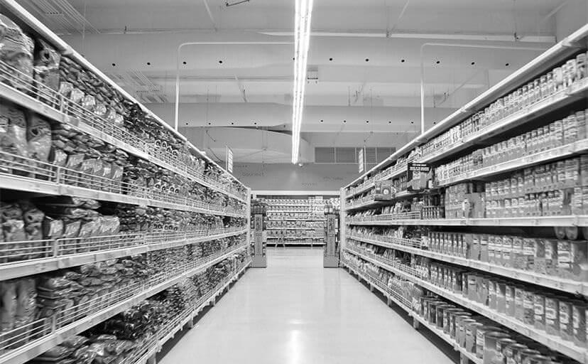スーパーマーケット(フリー写真)