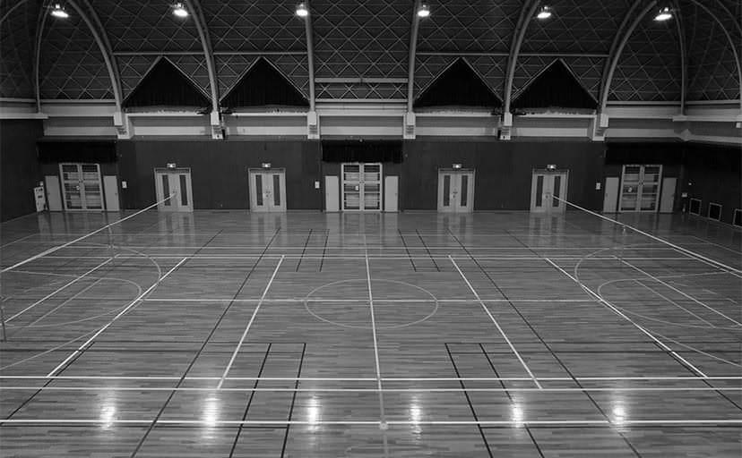 体育館(フリー写真)
