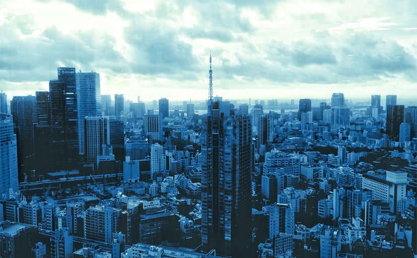 都市(フリー写真)