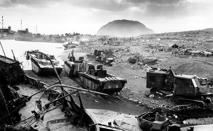 第二次世界大戦(フリー素材)