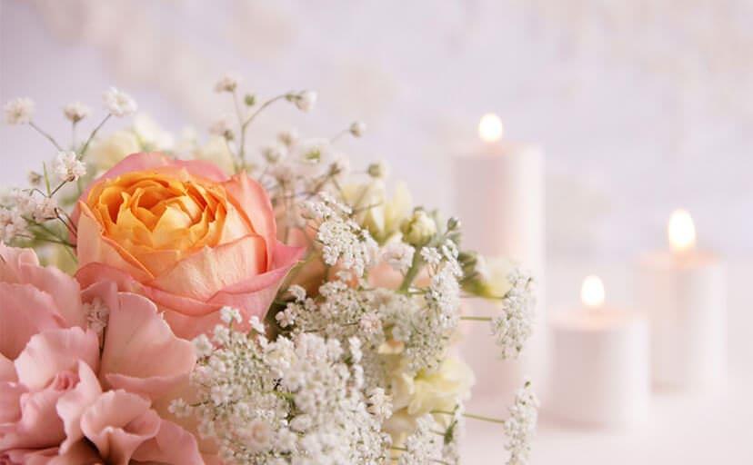 結婚式のブーケ(フリー写真)