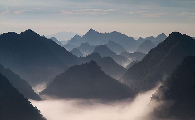 山(フリー写真)