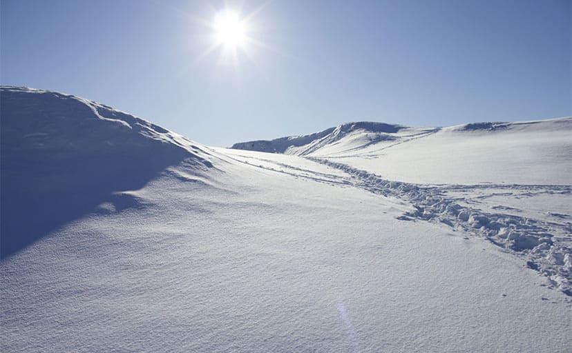 雪山(フリー写真)